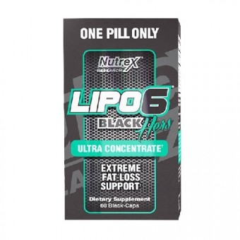 Nutrex Lipo 6 Black Hers Ultra Concentrated 60c.