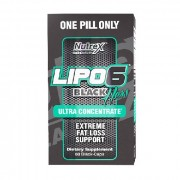 Жиросжигатель Nutrex Lipo 6 Black Hers Ultra Concentrated  (60 капс)