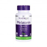 БАДы для сна и восстановления Natrol Melatonin Time Release 5 мг  (100 таб)