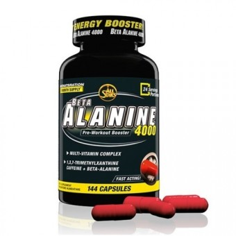 All Stars Beta Alanine 4000 144c.