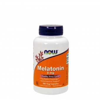 Мелатонин NOW Melatonin 5 мг  (180 капс)