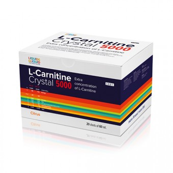 Л-карнитин Liquid & Liquid L-Carnitine Crystal 5000  (60 мл)