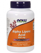 Альфа-липоевая кислота NOW Alpha Lipoic Acid 250mg   (120 vcaps)