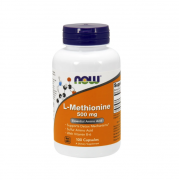 Метионин NOW L-Methionine 500mg   (100 caps)