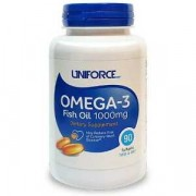 Омега-3 Uniforce Omega-3 Fish Oil 1000 мг  (90 капс)