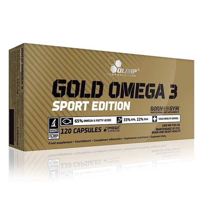 Омега-жиры Olimp Gold Omega 3 Sport Edition  (120 капс)