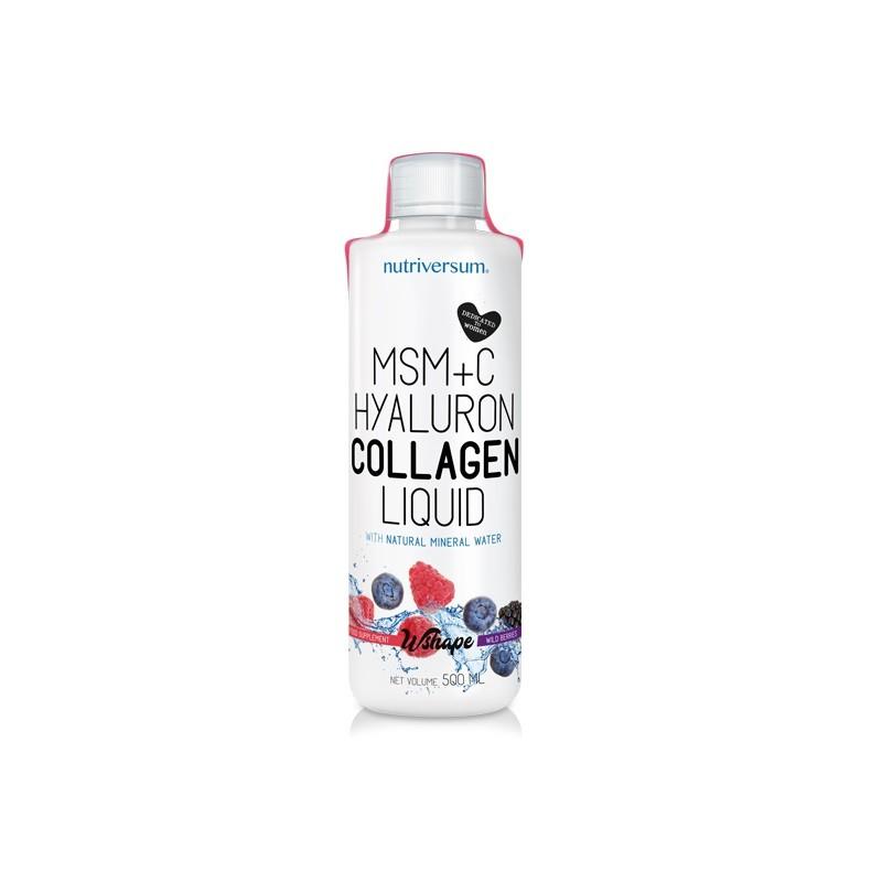 Collagen liquid mg - ml -VITA- Nutriversum - erdei gyümölcs