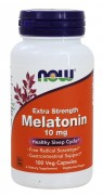БАДы для сна и восстановления NOW Melatonin 10mg  (100 caps.)