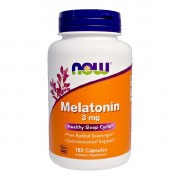 БАДы для сна и восстановления NOW Melatonin 3 мг  (180 капс)