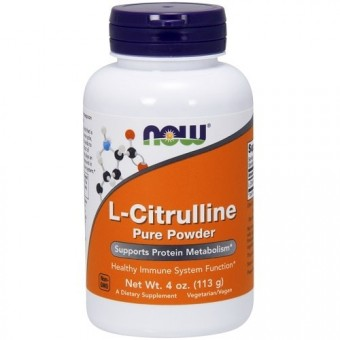 Цитрулин NOW L-Citrulline Powder   (113 гр.)