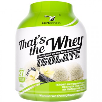 That's the Whey Isolate 2270g