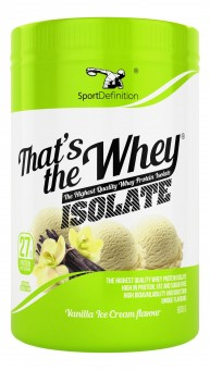 That's the Whey Isolate 640g