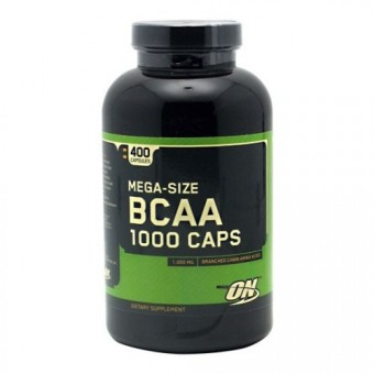 BCAA Optimum Nutrition BCAA 1000  (400 капс)