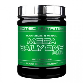 Scitec Mega Daily One Plus 120c.
