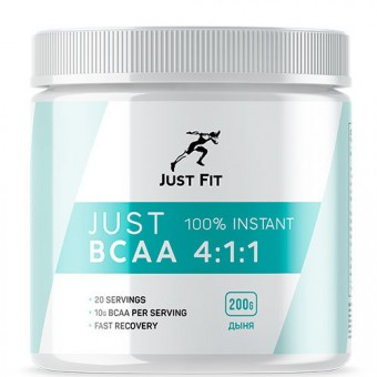 BCAA 4:1:1 Just Fit Just BCAA 4:1:1   (200g.)