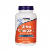 Омега-3 NOW Ultra Omega-3  (180 капс)