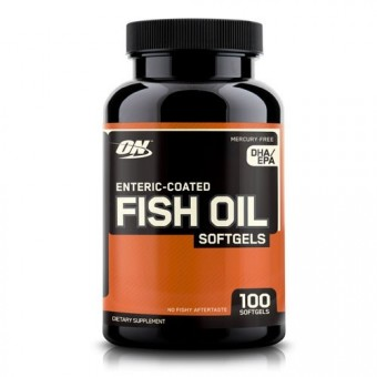 Омега-жиры Optimum Nutrition Fish Oil  (100 капс)
