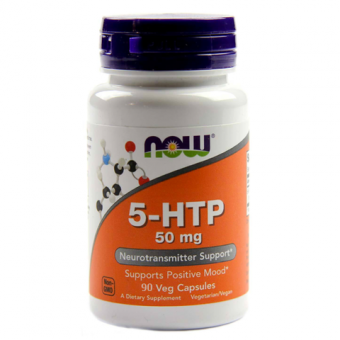 5-HTP  NOW 5-HTP 50 мг  (90 капс)
