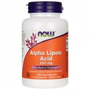 Антиоксиданты  NOW Alpha Lipoic Acid 250 мг  (60 капс)