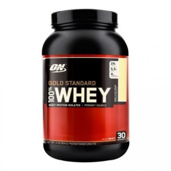 Сывороточный протеин Optimum Nutrition 100% Whey Gold Standard Natural  (907 г)