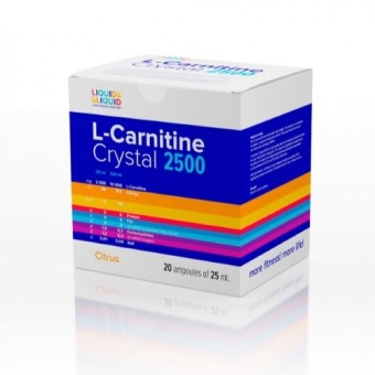L-Carnitine Crystal 2500 25ml