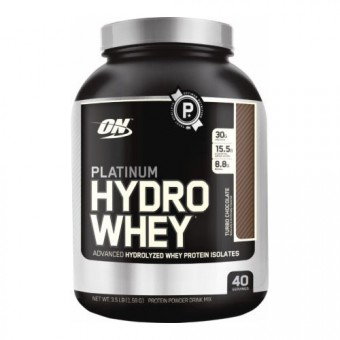 Гидролизат протеина Optimum Nutrition Platinum HydroWhey  (1590 г)